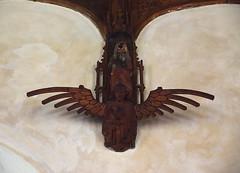 angel carrying a bird (1930s)