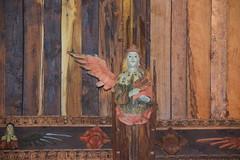 angel carrying a portative organ (15th Century)