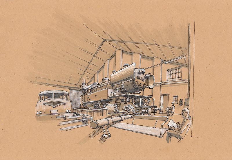 Eisenbahnmuseum Bochum · Train Museum Bochum