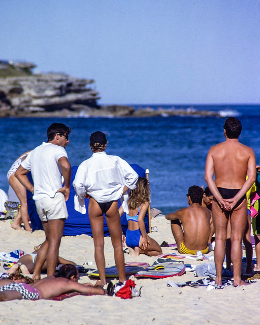 Hot Legs South Bondi 1984