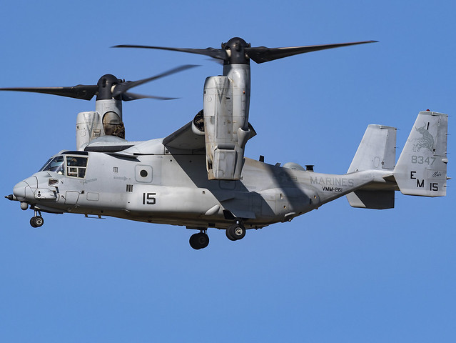 United States Marines VMM-261 | Bell-Boeing MV-22B Osprey | 168347