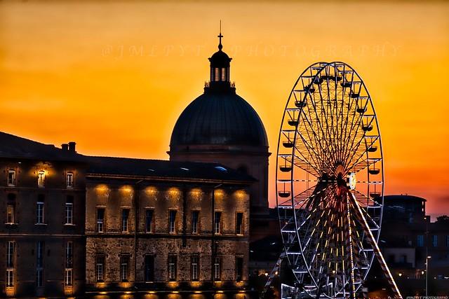 Le plus beau coucher de soleil deToulouse -3D0A3466