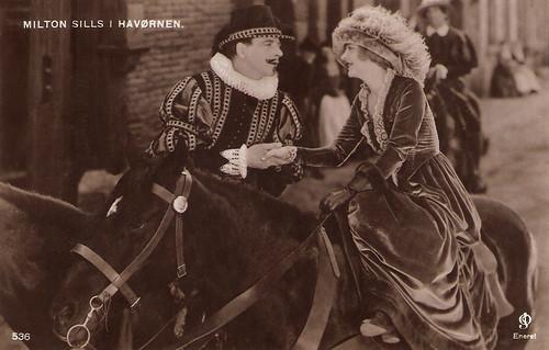 Milton Sills and Enid Bennett in The Sea Hawk (1924)
