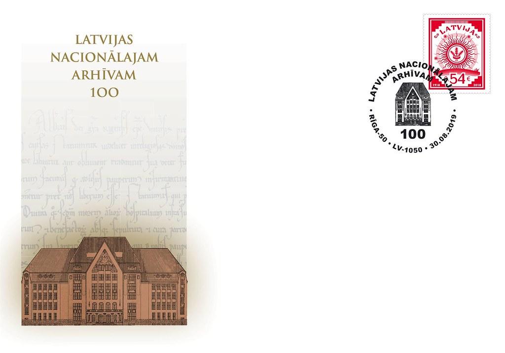 Aploksne Latvijas Nacionālajam arhīvam - 100 - Latvijas Pasts - Flickr