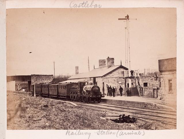 The train now arriving at platform number 1...
