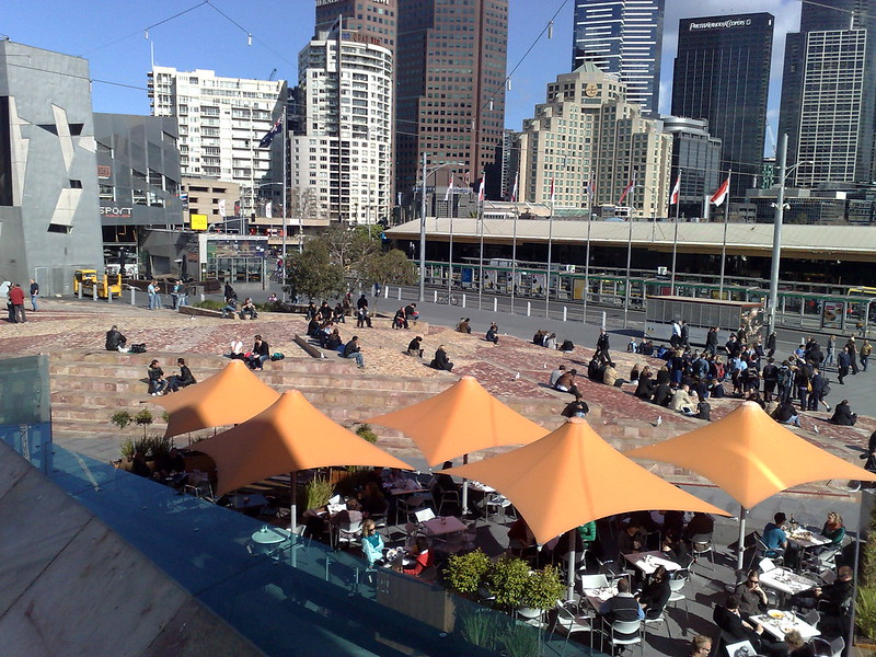 Federation Square, August 2009