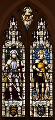 St George and St Martin (Horace Wilkinson, c1920)
