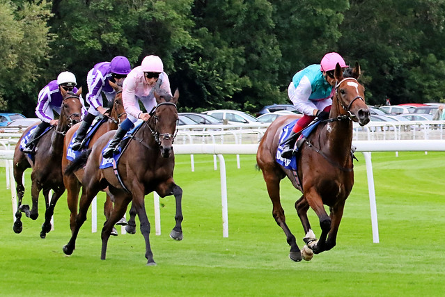 Frankie Dettori riding Enable