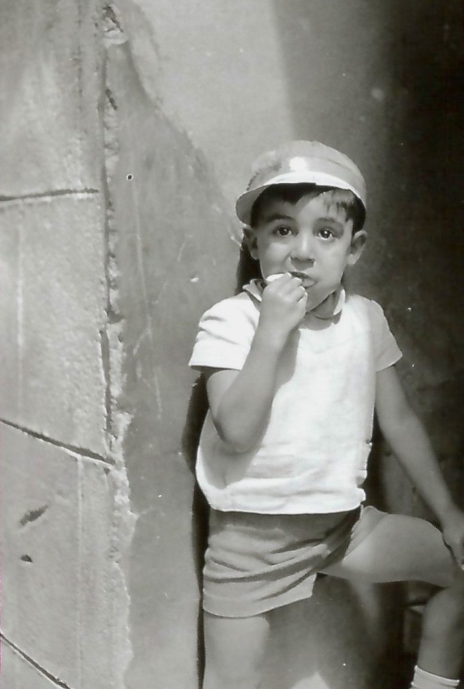 Un niño de Toledo en 1964. Fotografía de Anno Wilms © Stiftung Anno Wilms, Berlin