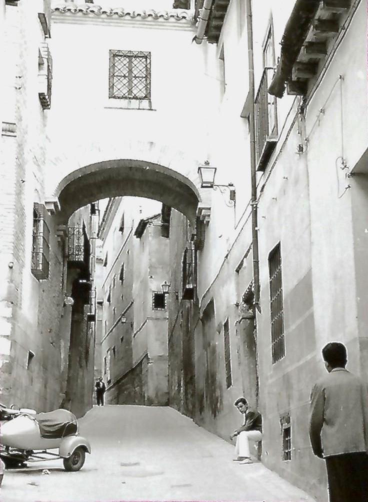 Calle del Ángel en Toledo en 1964. Fotografía de Anno Wilms © Stiftung Anno Wilms, Berlin