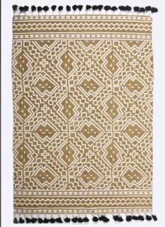 Dornie Cotton Printed Rug