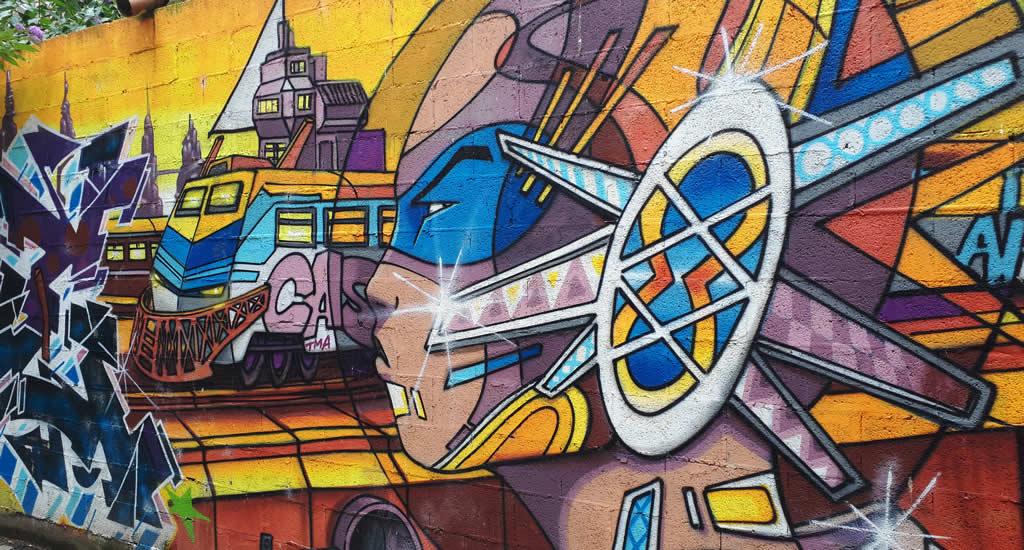 Street art in Luik: Didier Jaba Mathieu | Mooistestedentrips.nl