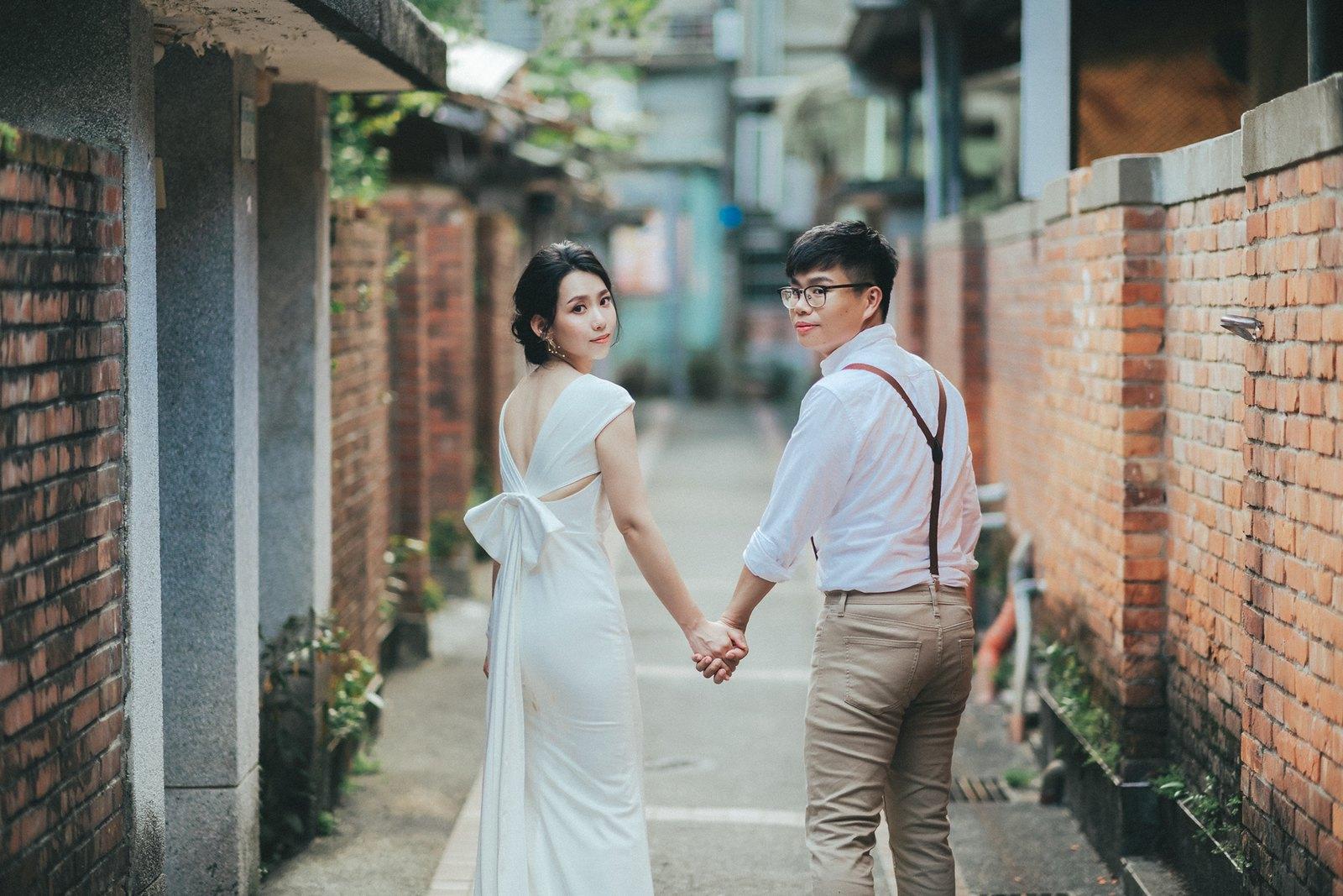 【婚紗】Darren & Mona / 政大河堤 / 眷村婚紗 / 化南新村