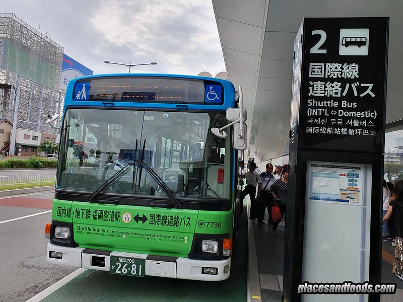 fukuoka airport shuttle