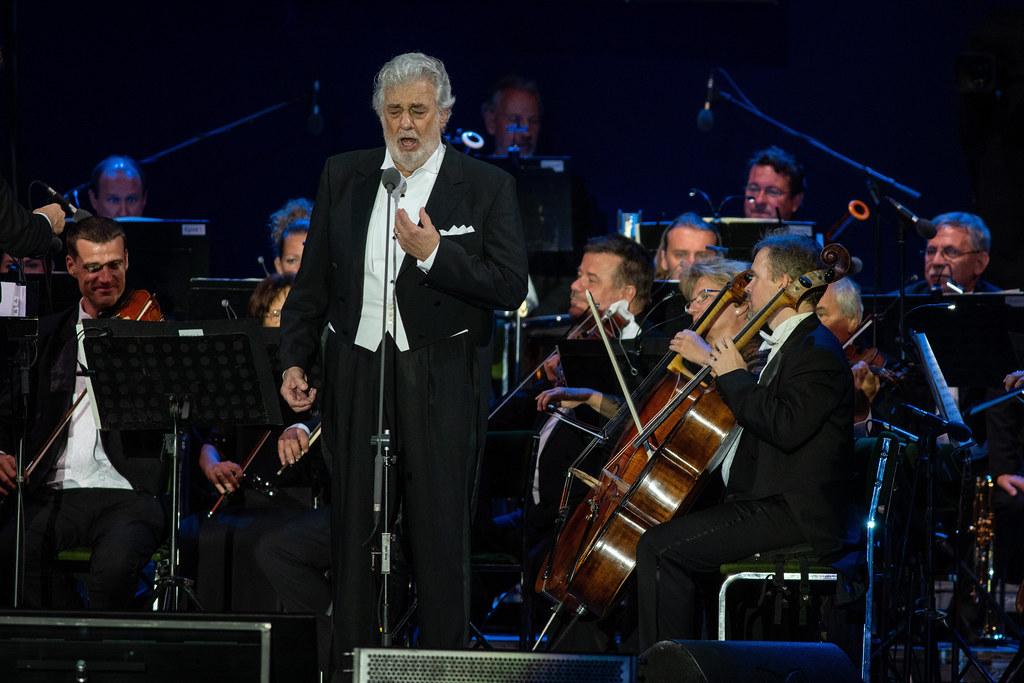 Ilyen volt a tegnapi Domingo-koncert