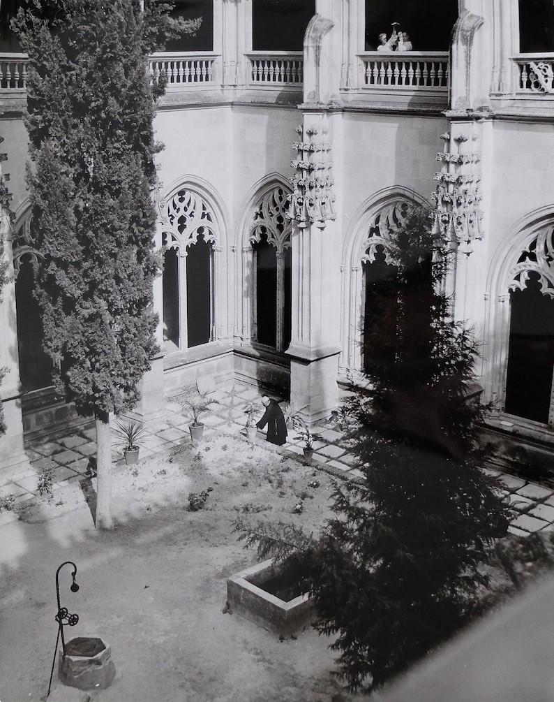 Claustro de San Juan de los Reyes en Toledo en 1964. Fotografía de Anno Wilms © Stiftung Anno Wilms, Berlin