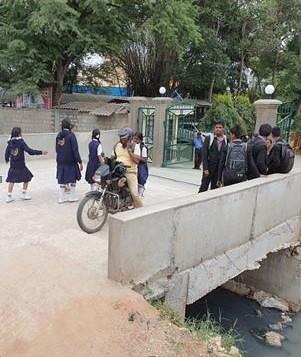 Brücke in Indien