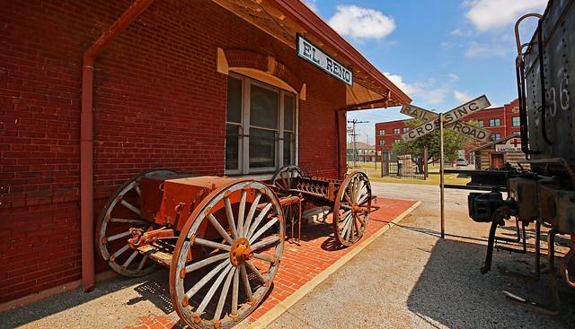 Old Train Depot - El Reno, Oklahoma