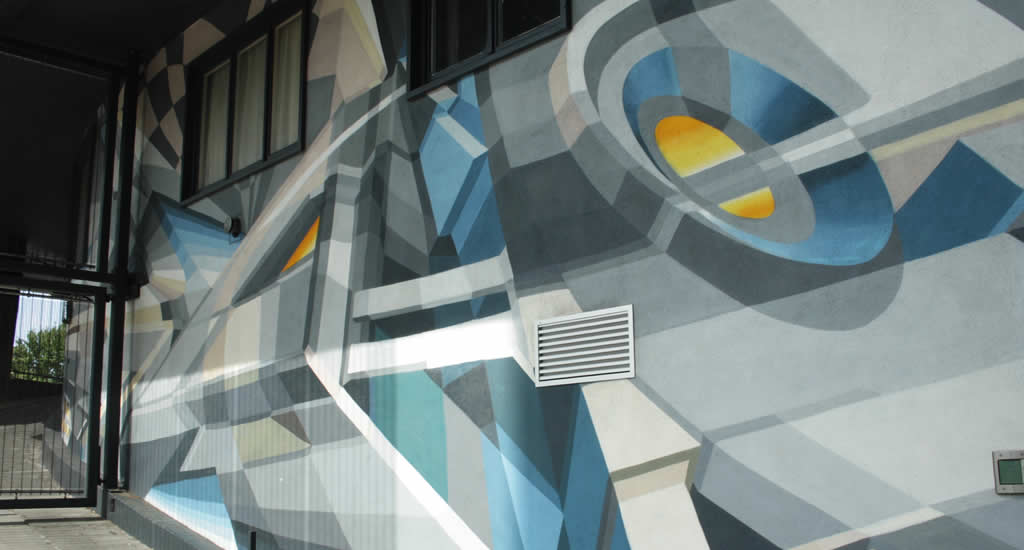 Street art in Luik: Didier Jaba Matthieu | Mooistestedentrips.nl