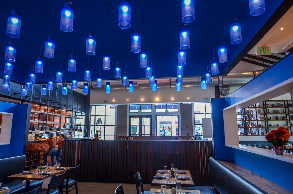 Frontera Cocina blue room