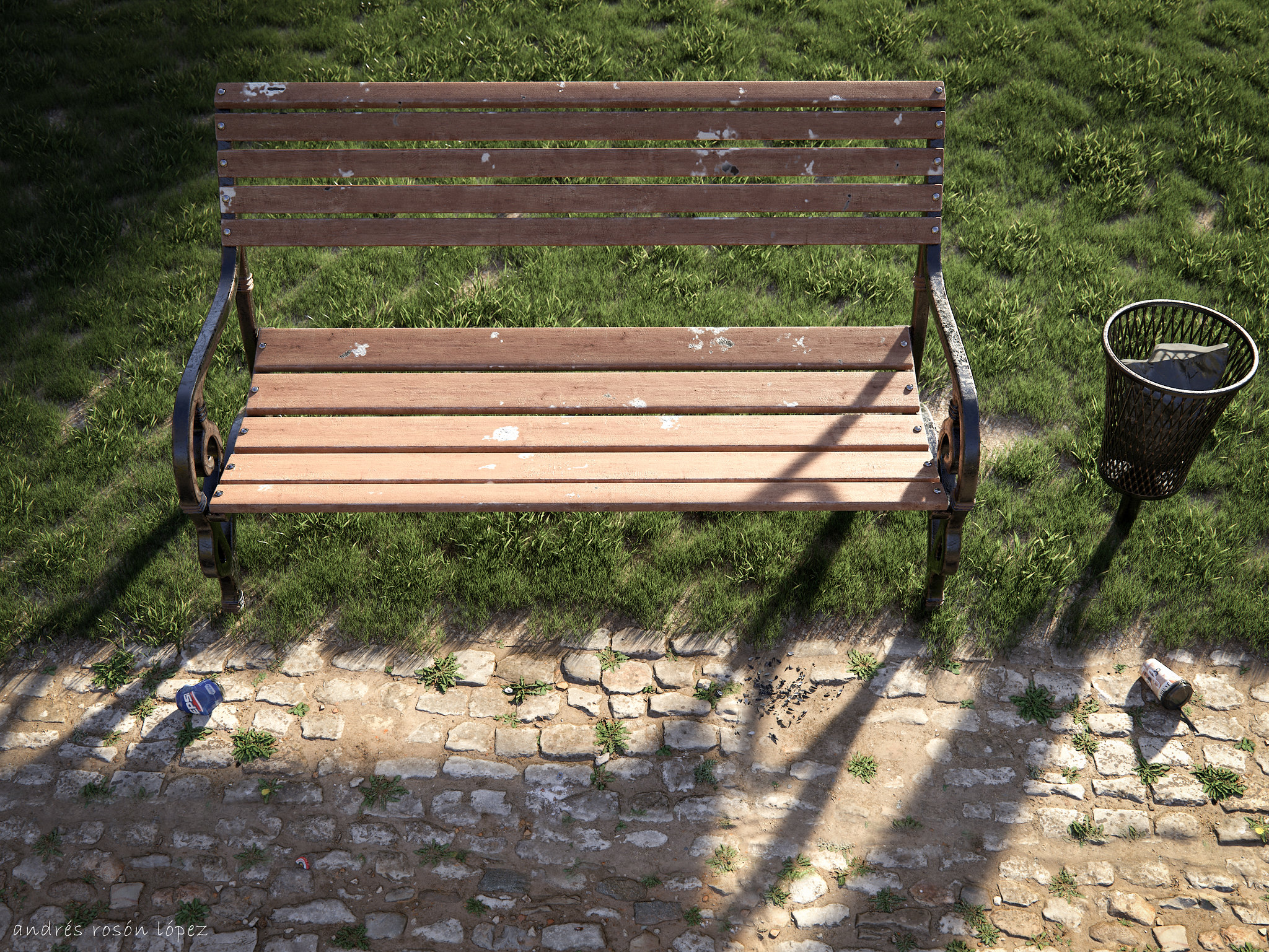 Bench in the Park(Imagine)
