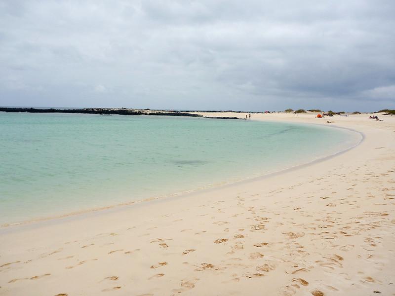 El Aguila beach in Cotillo