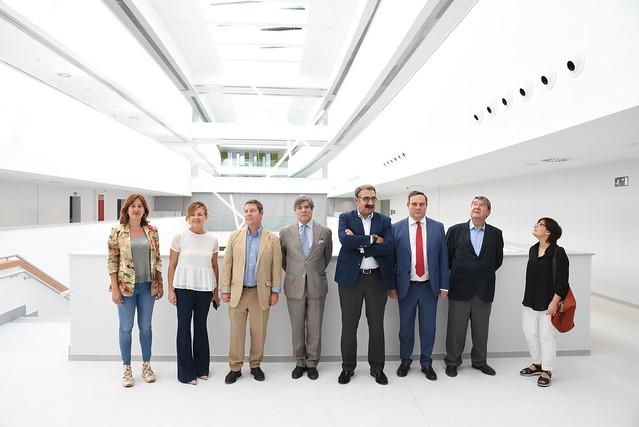 Visita técnica a los nuevos servicios médicos del Hospital Universitario de Toledo