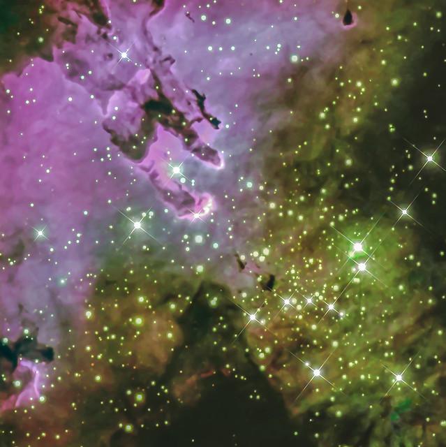 Messier 16 / NGC 6611 The Eagle Nebula + Pillars of Creation