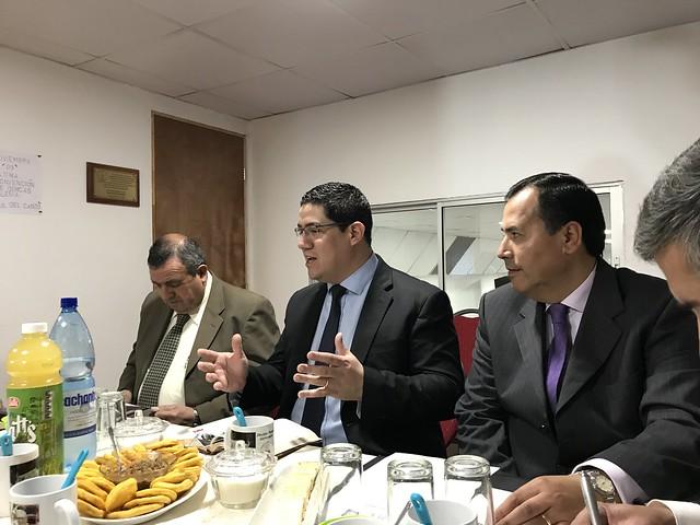 Segunda reunión de Organización UNIPECH Quinta Normal