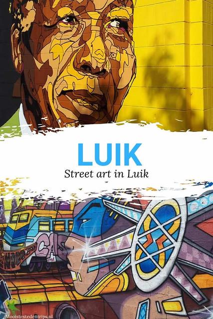 Street art in Luik: ontdek de mooiste street art in Luik | Mooistestedentrips.nl
