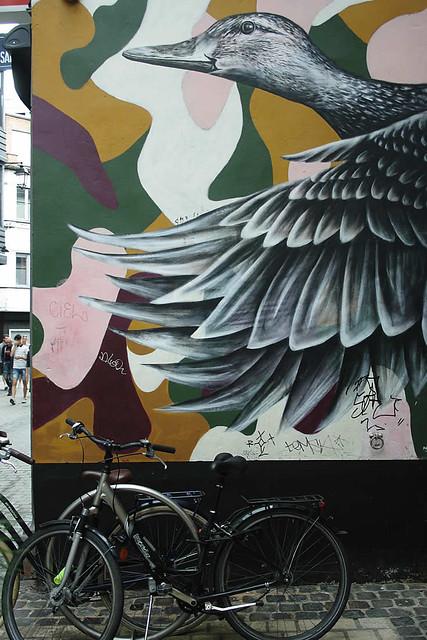 Noir, street art in Luik | Mooistestedentrips.nl