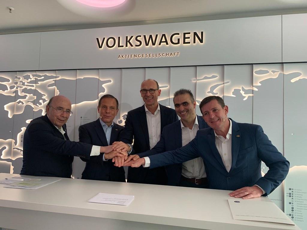 Visita à fábrica da Volkswagen na Alemanha