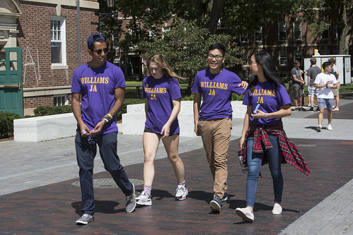 2019 Williams First Days Move In