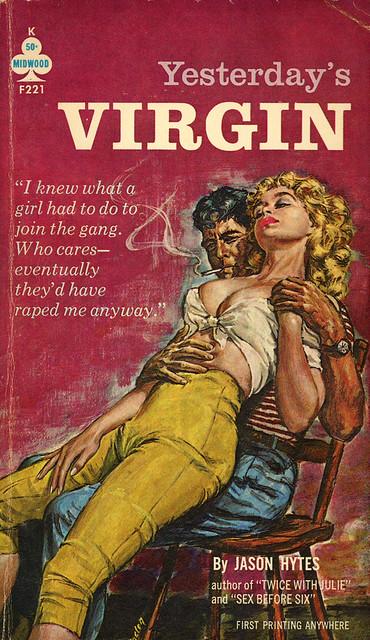 Midwood Books F221 - Jason Hytes - Yesterday's Virgin