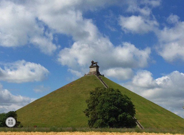 La Butte du Lion, Waterloo