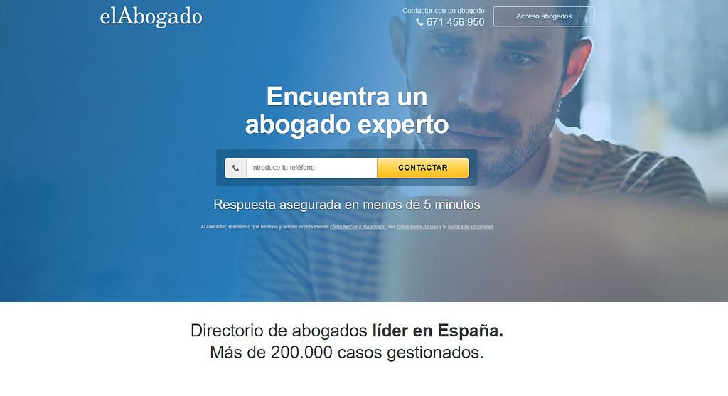 elAbogado - homepage