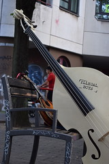 contrabass and guitar