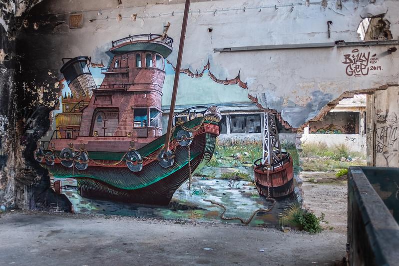 BOCCANEGRA abandoned bulding athens
