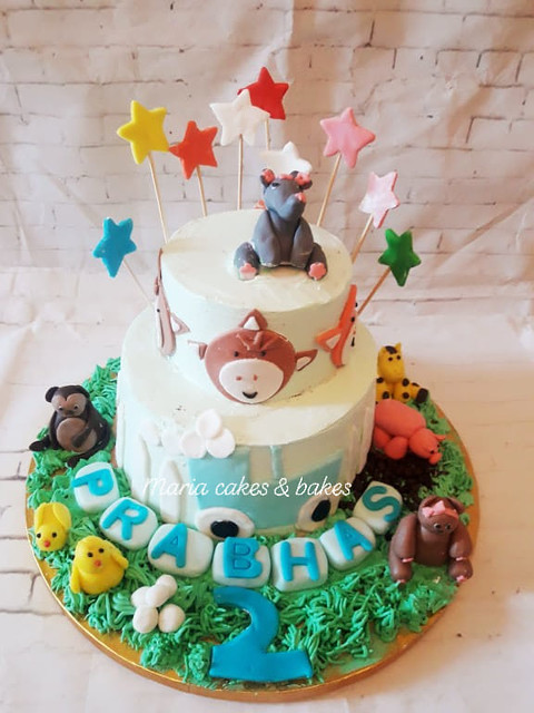 Jungle Theme Cake by Maria Cakes & Bakes