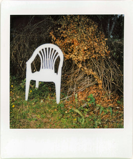 a tribute to the white plastic chair