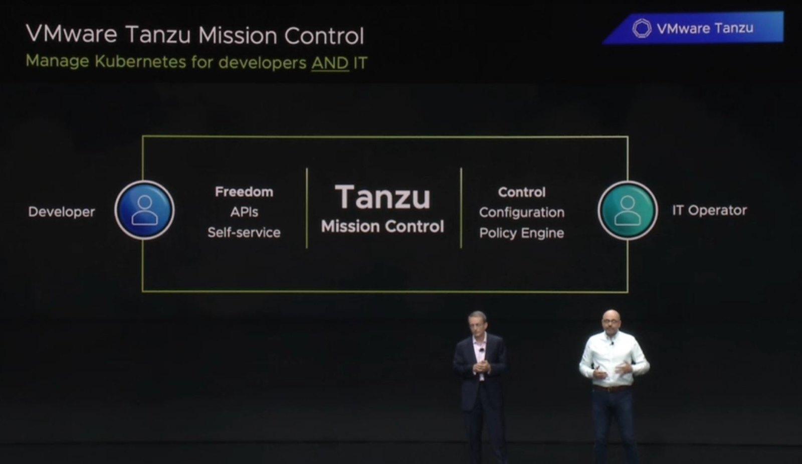VMware擁抱Kubernetes 宣佈容器管理技術Tanzu