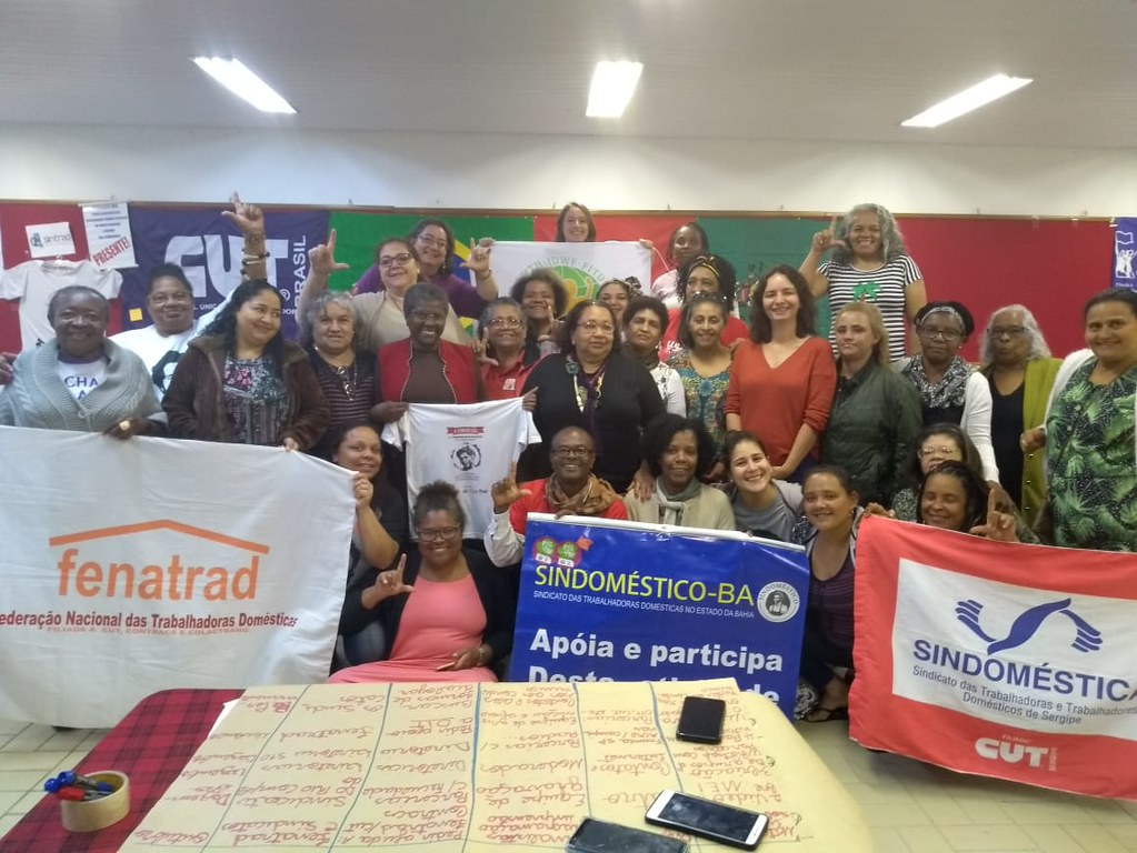 2019-8-23~25 Brazil: FENATRAD organizes workshop for the implementation of C189
