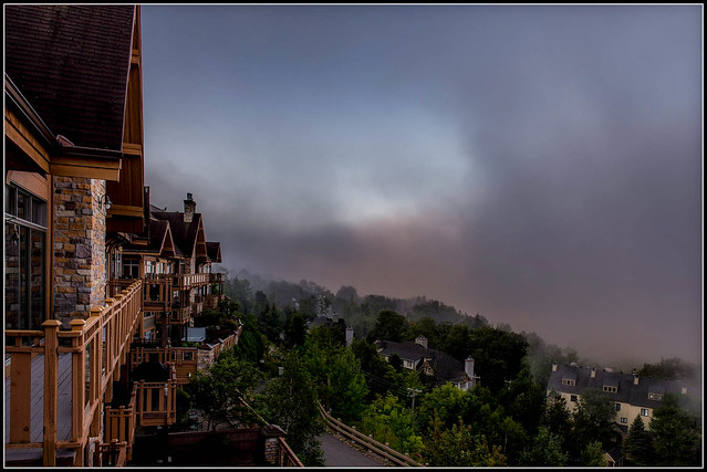 Fog Rolling Out - Morning
