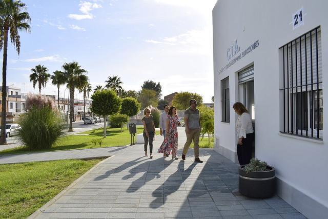 Nuevo edificio para CTA y CAIT en Los Palacios y Vfca