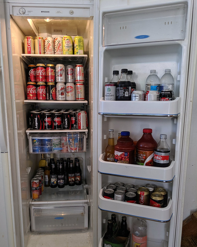 Behold My Drinks Fridge – Whatever