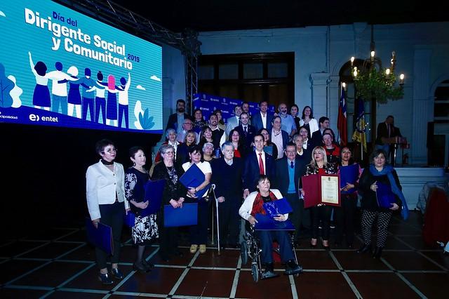 Celebración por el Día del Dirigente Social
