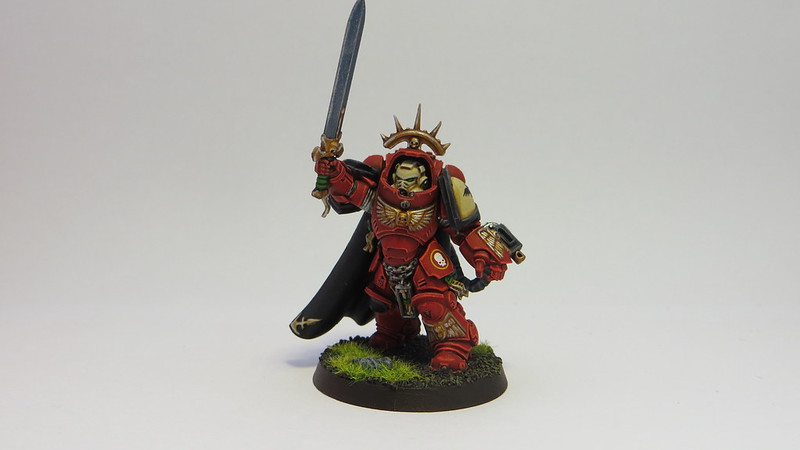 Blood Raven Primaris Gravis Captain III