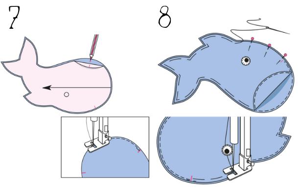 DIY Baby Bottle Holder STEPS 7 8