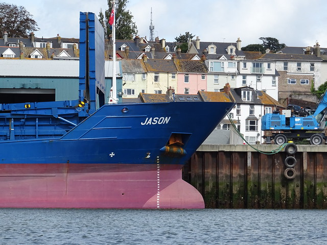 M.V. JASON (IMO: 9390111) General Cargo - AIS Vessel Type:  Cargo (MMSI: 305949000) Wessels Reederei GmbH & Co. KG