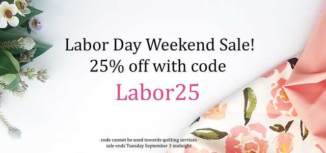 Labor Day Giveaway with Lady Belle Fabrics